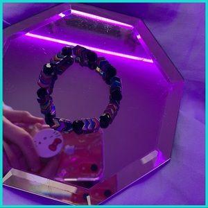 Handmade chevron bracelet